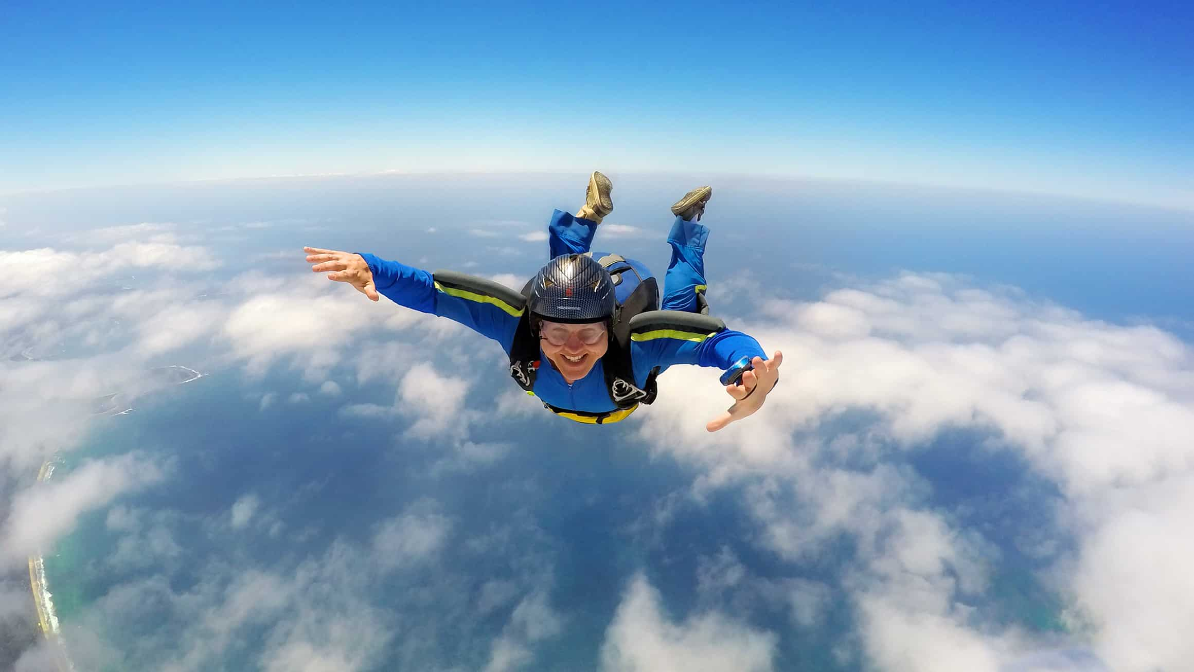 Enjoy The Thrill Of A Parachute Jump Without Fear