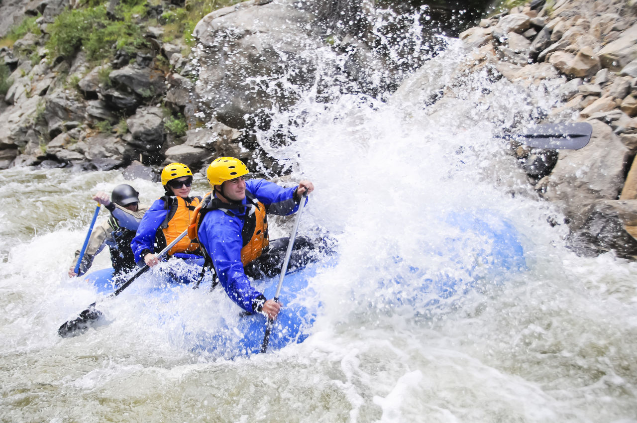 Water River Rafting in Rishikesh